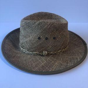 Scala Classico Panama Style L/XL Natural Fibre Hat
